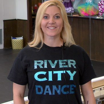 Sheryl Baker of River City Dance - Customer Profile
