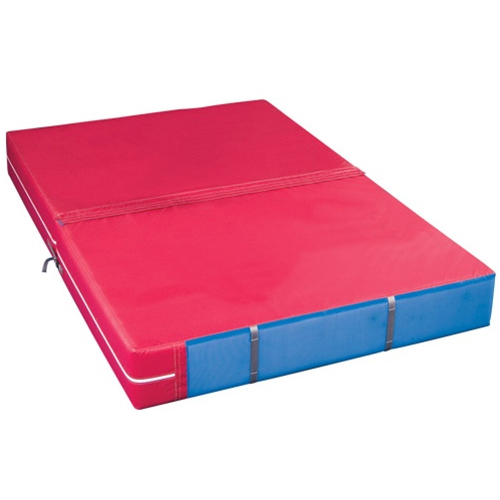 Tumbling and Gymnastics Landing Mat 4 Inches Thick Cushion Heavy Duty PINK