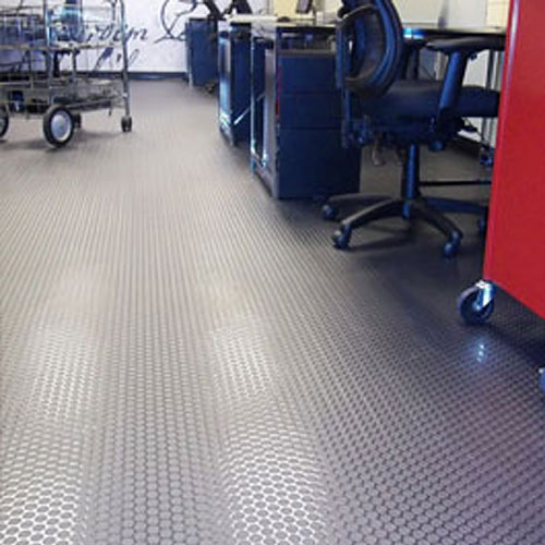 Loncoin 2 Commercial Vinyl Rolls 6x60 Ft Sonic Gray In Use
