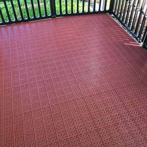 Installing Outdoor Tile Over A Wood Deck