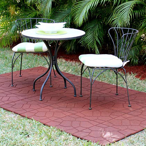 Benefits Of Rubber Patio Paver Tiles